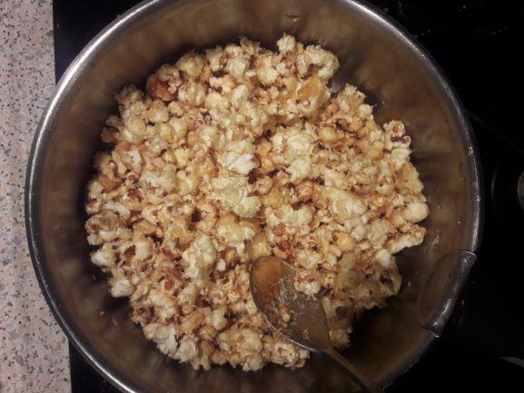 Popcorn casserole